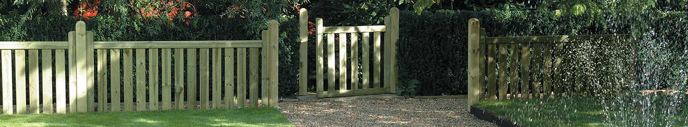 Timber Gate Posts