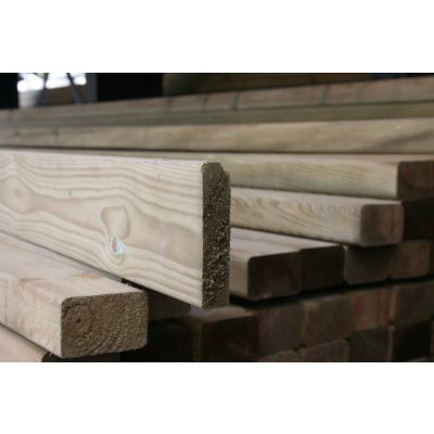 100mm x 25mm C16 Graded Eased Edge Timber (Gate Material)