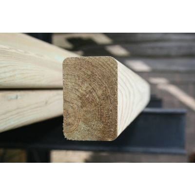 100mm x 75mm C16 Graded Eased Edge Timber (Gate Material)