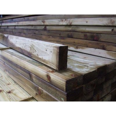 100mm x 47mm C16 Graded Eased Edge Timber