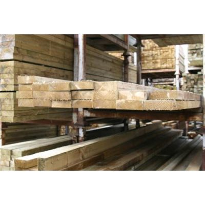 Sawn Timber Rail 125mm x 50mm