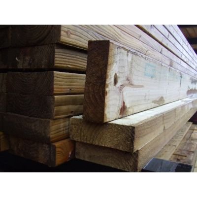 125mm x 47mm C16 Graded Eased Edge Timber