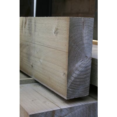 Sawn Timber Rail 225mm x 75mm - 4.8m