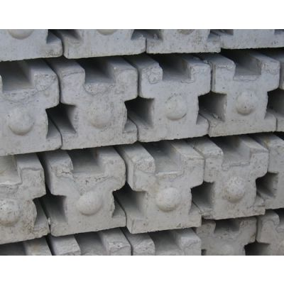 3-Way Slotted Concrete Post