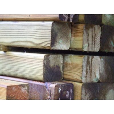 100mm x 100mm C16 Graded Planed Timber Posts