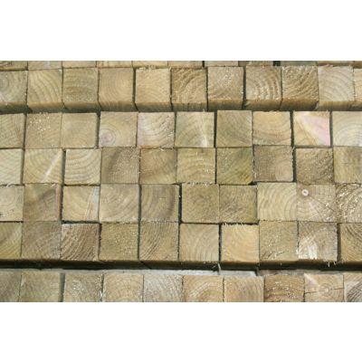 50mm x 47mm C16 Graded Plain Timber Posts