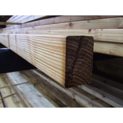 75mm x 47mm C16 Graded Eased Edge Timber