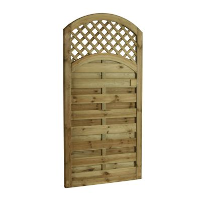 ALTG180 Arched Lattice Top Gate 180cm High x 90cm Wide