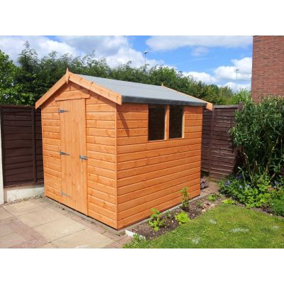 Apex Shiplap Shed (Delivered Only) 8ft (2.4m) x 6ft (1.8m)