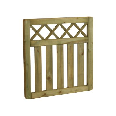 CTG90 Cross Top Gate 90cm High x 90cm Wide