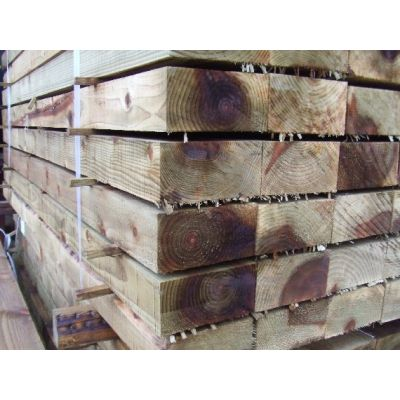 200mm x 100mm New Sawn Timber Sleeper (Economy) - 2.4m