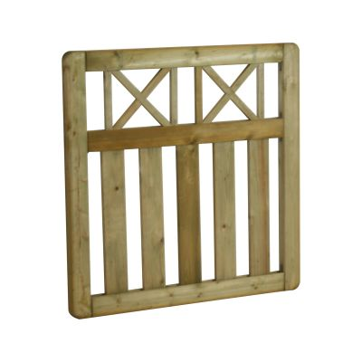 ECTG90 Elite Cross Top Gate 90 cm High x 90 cm Wide