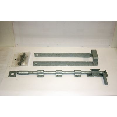 Field Gate Double Fastener Set Galvanised