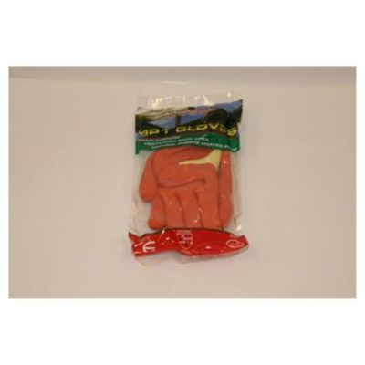 Green/Orange Dipped Cloth Gloves