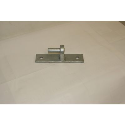 Hook on narrow plate - 150mm x 50mm