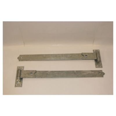 Straight hook and band hinge (Galvanised)