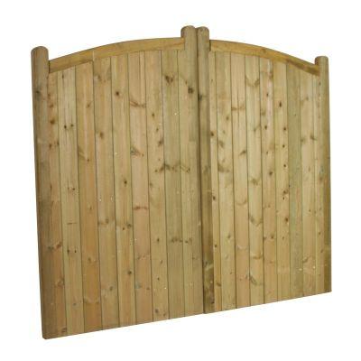 Kent Arch-Top Double Gates