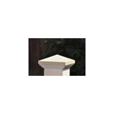 Moulded Pyramid-top Timber Post Cap