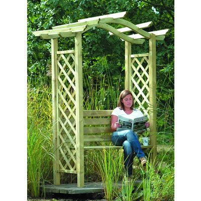 Omega Arbour Arch (with seat) OTAS1