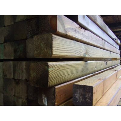 75mm x 75mm C16 Graded Planed Timber Posts