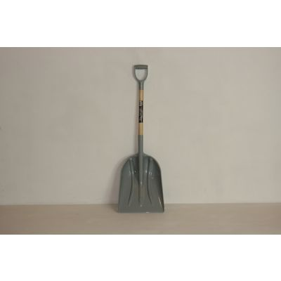 ABS Plastic Grain Shovel With Timber Shaft