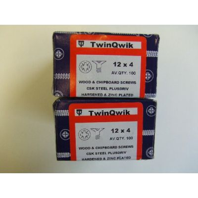 Pozi Screws (No.12)