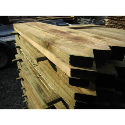 75mm x 22mm Sawn Timber Pale (Pointed Top)
