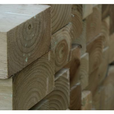 125mm x 75mm Sawn Timber Post