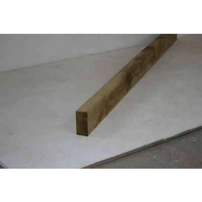 Sawn Timber Rail 100mm x 50mm