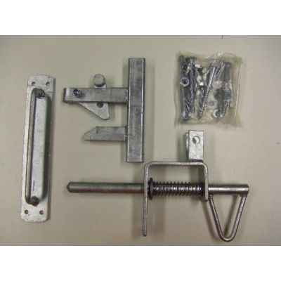 Uni-latch gate latch