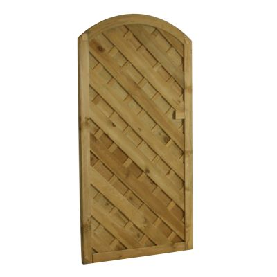 VAG180 'V' Arched Gate 180cm high x 90 cm wide