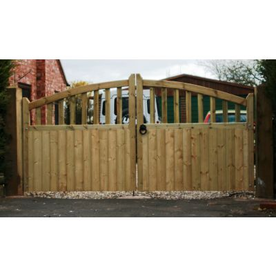 Gloucester Single Arched Gates